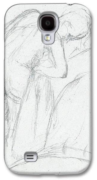 After The Bath Galaxy S4 Case by Edgar Degas