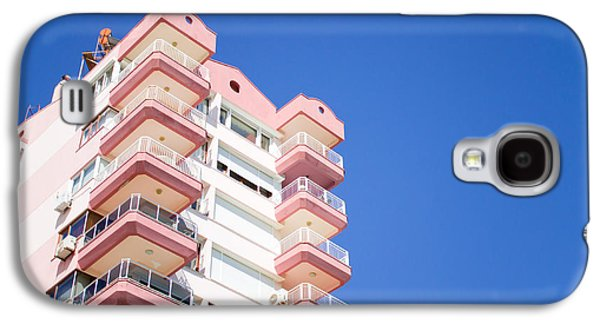 Upscale Galaxy S4 Cases - Antalya buildings Galaxy S4 Case by Tom Gowanlock