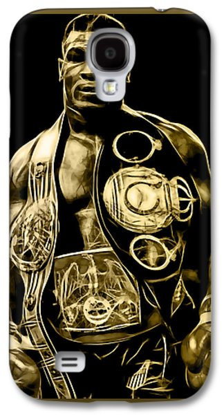 Boxer Galaxy S4 Cases - Mike Tyson Collection Galaxy S4 Case by Marvin Blaine