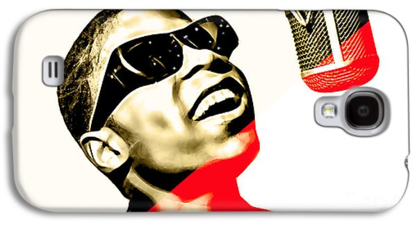 Stevie Wonder Collection Galaxy S4 Case by Marvin Blaine