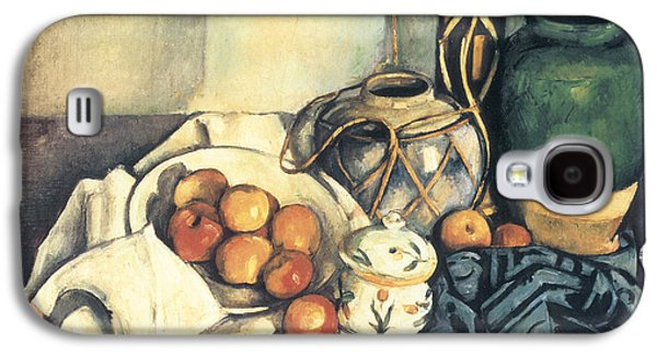 Still Life With Apples Galaxy S4 Case by Paul Cezanne