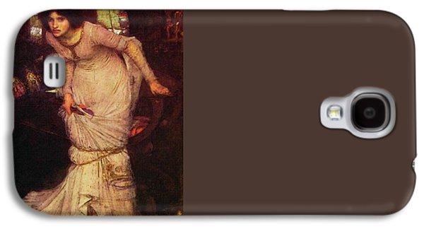 The Lady Of Shalott Galaxy S4 Case by John William Waterhouse