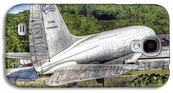 Curtiss Galaxy S4 Cases - 1020 Curtiss C46 Commando Galaxy S4 Case by Steve Sturgill