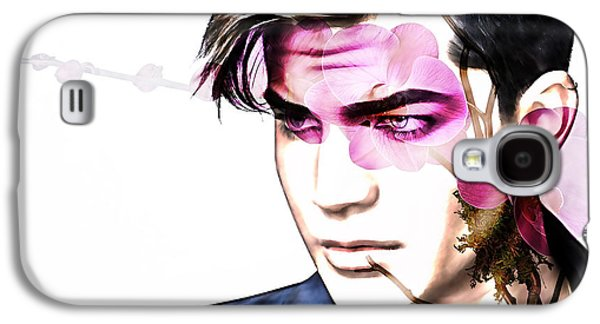 Queen Galaxy S4 Cases - Adam Lambert Collection Galaxy S4 Case by Marvin Blaine
