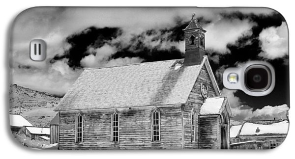Original Art Photographs Galaxy S4 Cases - Bodie Ghost Town Galaxy S4 Case by Maria Jansson