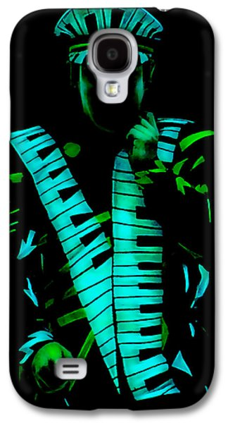 Elton John Galaxy S4 Cases - Elton John Collection Galaxy S4 Case by Marvin Blaine