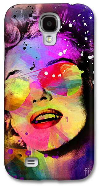70s Galaxy S4 Cases - Marilyn Monroe  Galaxy S4 Case by Mark Ashkenazi