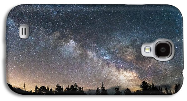 Landscape Metal Prints Galaxy S4 Cases - 11 Mile Milky Way Galaxy S4 Case by Darren  White
