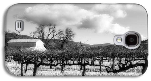 Napa Valley And Vineyards Galaxy S4 Cases - Napa Valley Vineyard Galaxy S4 Case by Mountain Dreams