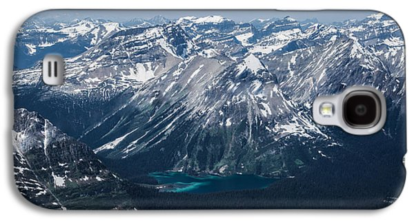 Canadian Pyrography Galaxy S4 Cases - Mountains #11 Galaxy S4 Case by Olga Photography