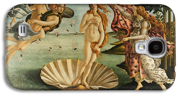 The Birth Of Venus Galaxy S4 Case by Sandro Botticelli