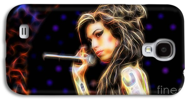 Amy Winehouse Collection Galaxy S4 Case by Marvin Blaine