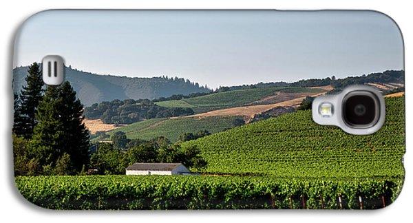 California Vineyard Galaxy S4 Case by Mountain Dreams