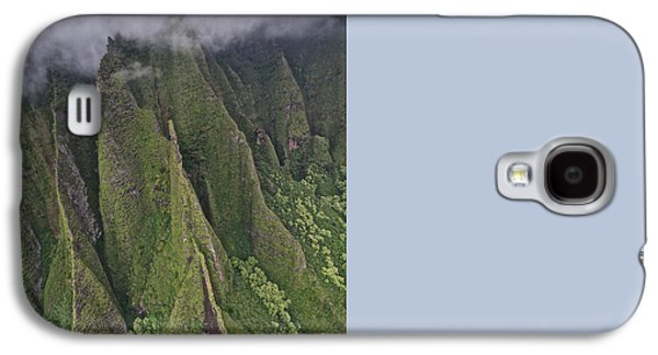 Green Galaxy S4 Cases - Na Pali Coastline Galaxy S4 Case by Steven Lapkin
