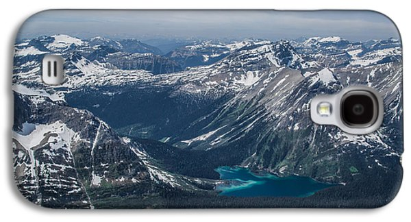 Canadian Pyrography Galaxy S4 Cases - Mountains #12 Galaxy S4 Case by Olga Photography