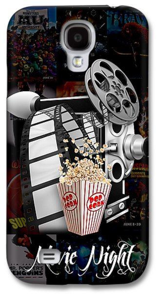 Camera Galaxy S4 Cases - Movie Room Decor Collection Galaxy S4 Case by Marvin Blaine