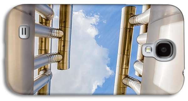 Pipes At Nesjavellir Geothermal Power Galaxy S4 Case by Panoramic Images