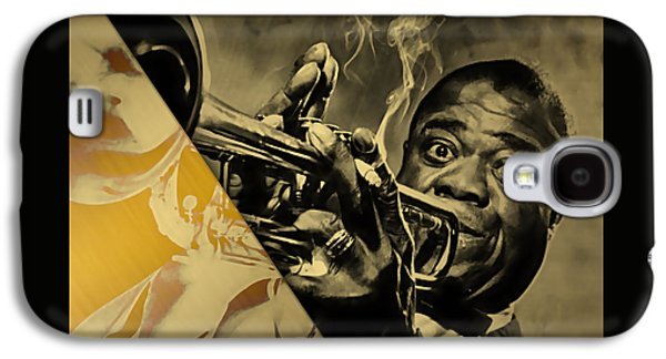 Louis Armstrong Collection Galaxy S4 Case by Marvin Blaine