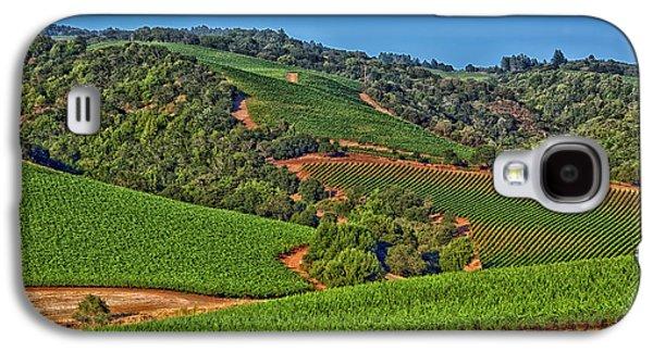 Napa Valley Vineyard Galaxy S4 Case by Mountain Dreams