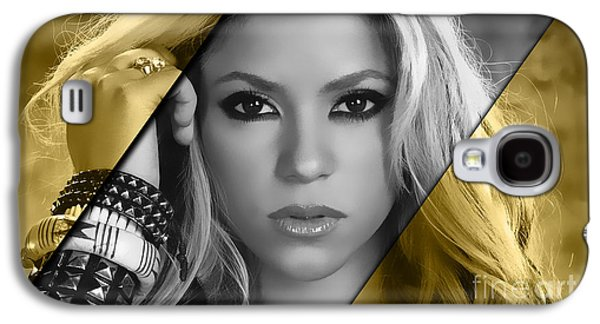 Shakira Collection Galaxy S4 Case by Marvin Blaine