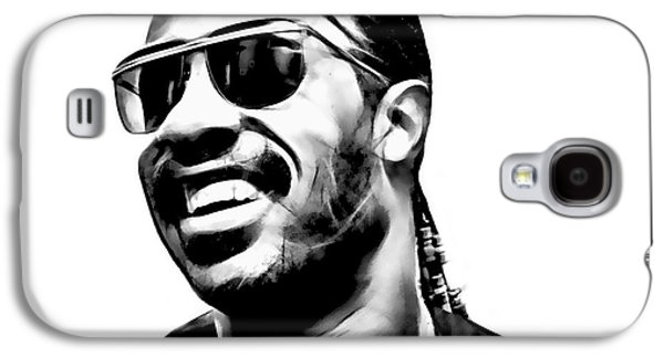 Soul Galaxy S4 Cases - Stevie Wonder Collection Galaxy S4 Case by Marvin Blaine