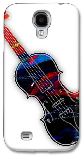 Violin Collection Galaxy S4 Case by Marvin Blaine