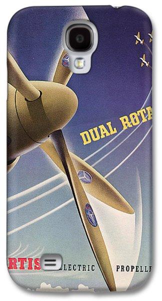 Industrial Drawings Galaxy S4 Cases - World War II Advertisement  Galaxy S4 Case by American School