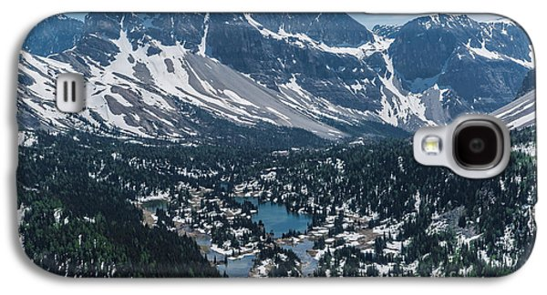Canadian Pyrography Galaxy S4 Cases - Mountains #16 Galaxy S4 Case by Olga Photography