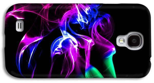 Abstract Forms Galaxy S4 Cases - Abstract Smoke Art Galaxy S4 Case by Stephen Inglis