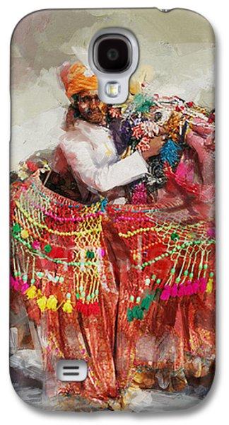 Decorate Galaxy S4 Cases - 17 pakistan folk Punjab B Galaxy S4 Case by Mahnoor Shah