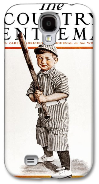 Baseball Uniform Galaxy S4 Cases - Cover Of Country Gentleman Agricultural Galaxy S4 Case by Remsberg Inc