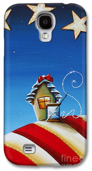 Ross Paintings Galaxy S4 Cases - 1776 Galaxy S4 Case by Cindy Thornton