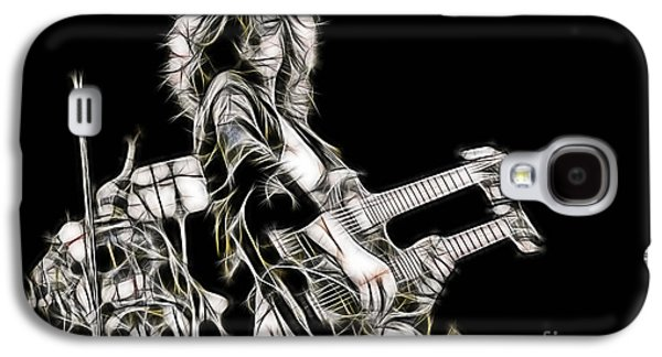 Jimmy Page Galaxy S4 Cases - JImmy Page Collection Galaxy S4 Case by Marvin Blaine