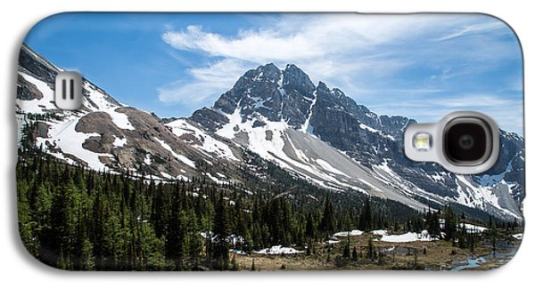 Canadian Pyrography Galaxy S4 Cases - Mountains #18 Galaxy S4 Case by Olga Photography