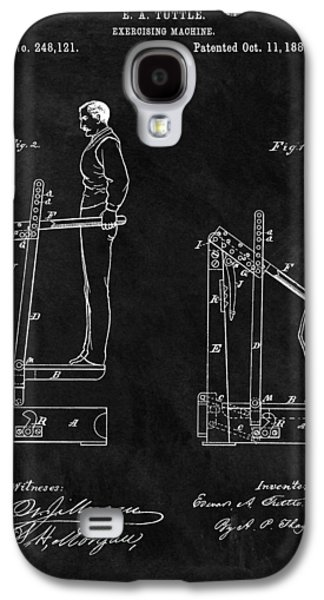 1881 Exercise Machine Illustration Galaxy S4 Case by Dan Sproul