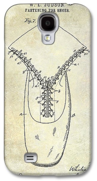 Jordan Photographs Galaxy S4 Cases - 1896 Shoe Patent  Galaxy S4 Case by Jon Neidert