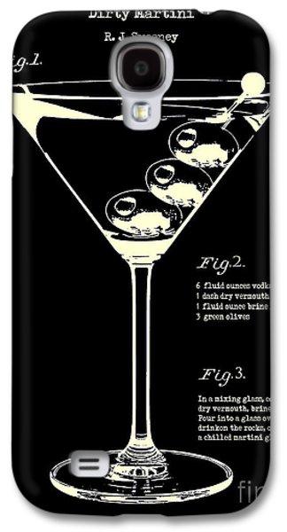 1897 Dirty Martini Patent Galaxy S4 Case by Jon Neidert