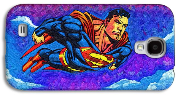 Superman Costume Galaxy S4 Case by Egor Vysockiy