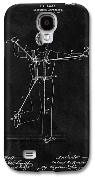 1900 Exercise Equipment Patent Galaxy S4 Case by Dan Sproul