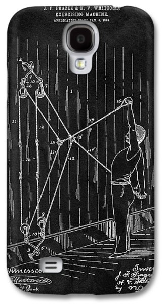 1904 Exercise Apparatus Patent Galaxy S4 Case by Dan Sproul