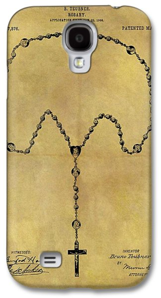 1906 Rosary Patent Galaxy S4 Case by Dan Sproul
