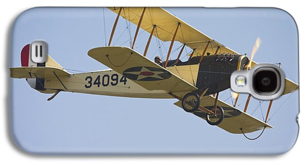Curtiss Galaxy S4 Cases - 1917 Curtiss JN-4D Jenny Flying Canvas Photo Poster Print Galaxy S4 Case by Keith Webber Jr