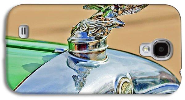 Car Mascots Galaxy S4 Cases - 1928 Studebaker Hood Ornament Galaxy S4 Case by Jill Reger