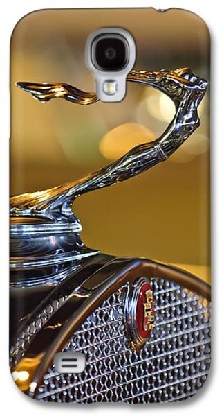 Car Mascots Galaxy S4 Cases - 1930 Cadillac Roadster Hood Ornament Galaxy S4 Case by Jill Reger