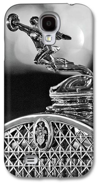 Collector Hood Ornament Galaxy S4 Cases - 1931 Packard Convertible Victoria Hood Ornament 2 Galaxy S4 Case by Jill Reger