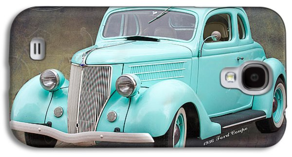 Original Art Photographs Galaxy S4 Cases - 1936 Ford Coupe Galaxy S4 Case by Darrell Hutto