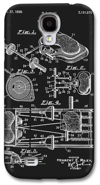 1938 Exercise Device Patent Galaxy S4 Case by Dan Sproul