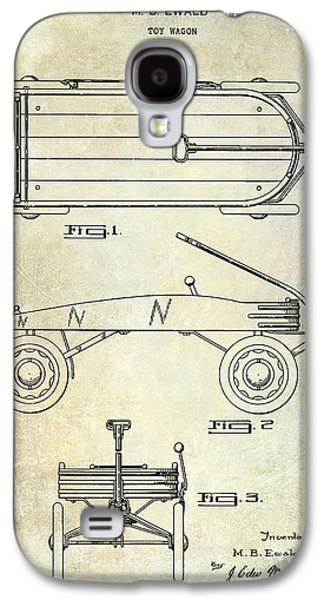 Wagon Photographs Galaxy S4 Cases - 1939 Toy Wagon Patent  Galaxy S4 Case by Jon Neidert