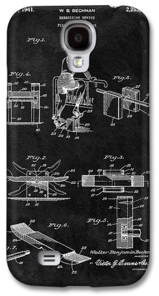 1941 Exercising Apparatus Patent Galaxy S4 Case by Dan Sproul