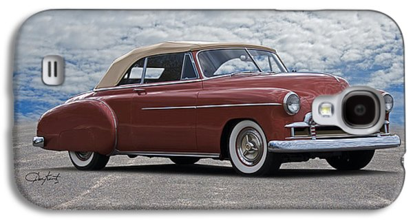 Slam Galaxy S4 Cases - 1950 Chevrolet Custom Convertible Galaxy S4 Case by Dave Koontz